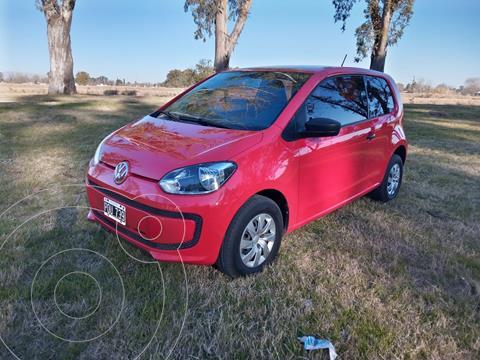 Volkswagen up! 3P 1.0 take up! usado (2016) color Rojo precio $1.250.000