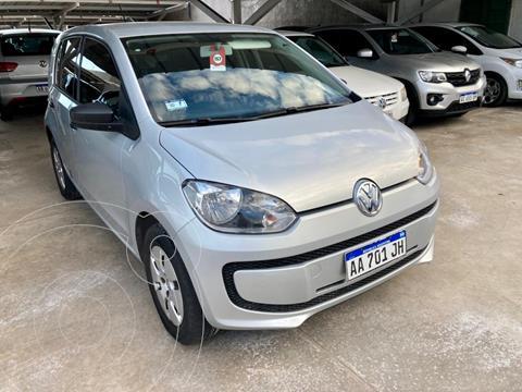 Volkswagen up! 5P take up! usado (2016) color Gris Claro precio $1.090.000