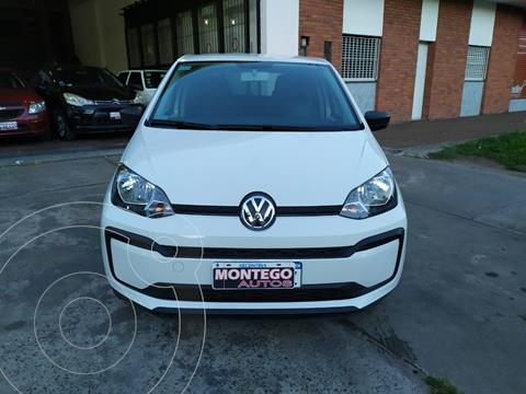 Volkswagen up! 5P 1.0 take up! usado (2019) color Blanco Cristal precio $1.350.000