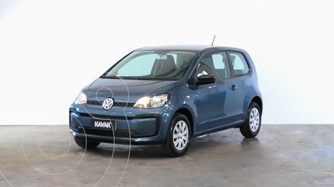 Volkswagen up! 5P 1.0 take up! usado (2018) color Azul Cristal precio $1.250.000