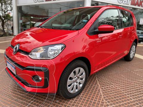 Volkswagen up! 5P 1.0 move up! usado (2018) color Rojo precio $1.599.990