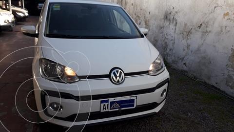 Volkswagen up! 5P 1.0 hig up! usado (2018) color Blanco Cristal financiado en cuotas(anticipo $950.000)