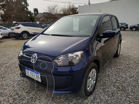 Volkswagen up! 5P 1.0 move up! usado (2016) color Azul Noche precio $1.250.001