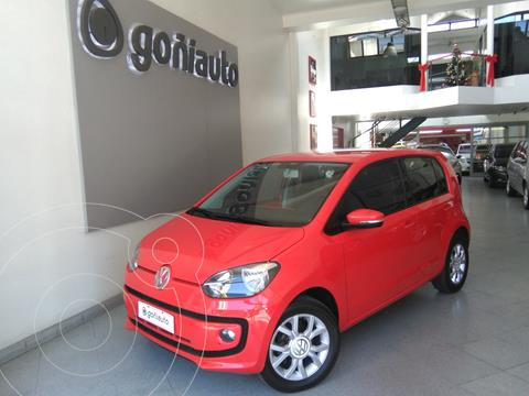 Volkswagen up! High up! 5P usado (2016) color Rojo precio $880.000