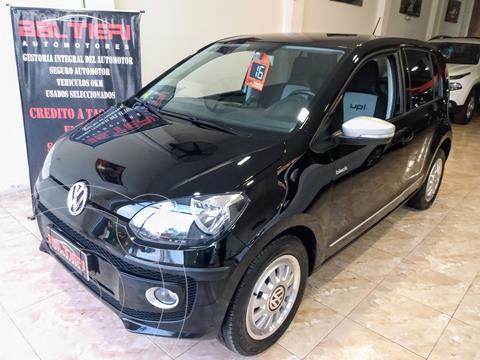 Volkswagen up! 5P 1.0 black up! usado (2016) color Negro precio $1.530.000