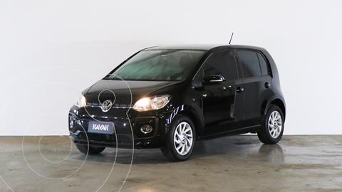 Volkswagen up! 5P 1.0 high up! usado (2018) color Negro precio $1.420.000