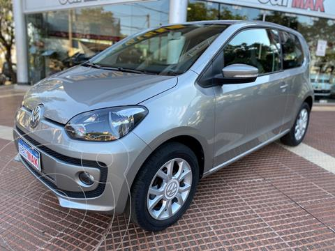 Volkswagen up! 3P 1.0 high up! usado (2017) color Gris financiado en cuotas(anticipo $780.000)