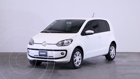 Volkswagen up! 5P 1.0 high up! usado (2016) color Blanco Cristal precio $1.190.000