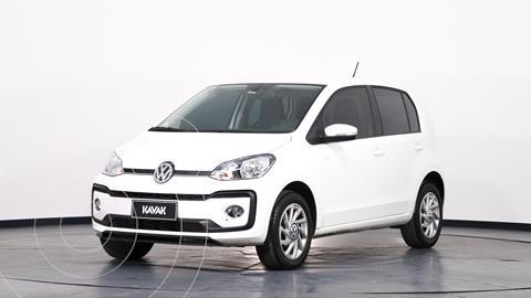 Volkswagen up! 5P 1.0 high up! usado (2018) color Blanco precio $1.570.000