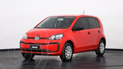 Volkswagen up! 5P 1.0 take up! usado (2019) color Rojo precio $1.530.000