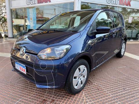 Volkswagen up! 5P 1.0 move up! usado (2015) color Azul financiado en cuotas(anticipo $720.000)