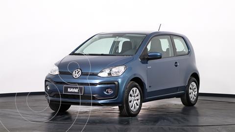 Volkswagen up! 3P 1.0 move up! usado (2017) color Azul precio $1.380.000