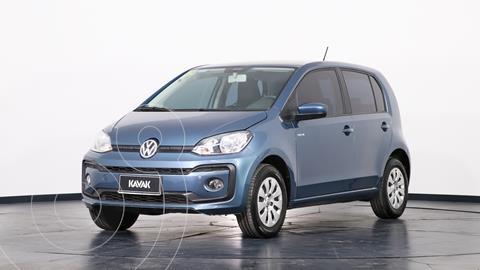 Volkswagen up! 5P 1.0 move up! usado (2018) color Azul precio $1.460.000