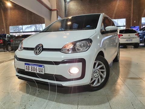 Volkswagen up! 5P 1.0 high up! usado (2017) color Blanco Cristal financiado en cuotas(anticipo $800.000)