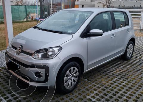 Volkswagen up! 5P 1.0 move up! usado (2018) color Plata precio $1.370.000