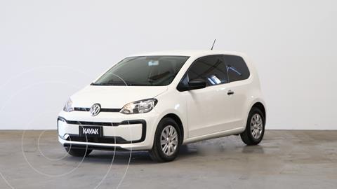 Volkswagen up! 3P 1.0 take up! + usado (2017) color Blanco Cristal precio $1.340.000