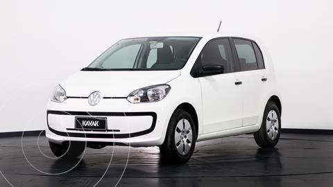 Volkswagen up! 5P 1.0 take up! usado (2017) color Blanco Cristal precio $1.180.000