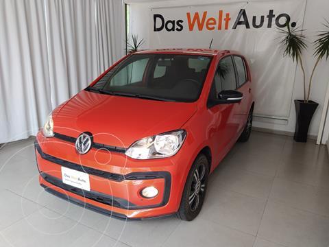 Volkswagen up! CONNECT MT L3 75HP usado (2018) color Naranja precio $185,000