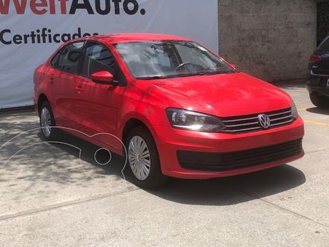 Volkswagen Vento Startline usado (2020) color Rojo precio $209,000