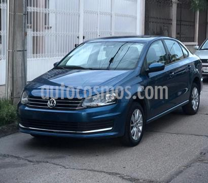 Volkswagen Vento Comfortline usado (2018) color Azul Noche precio $175,000