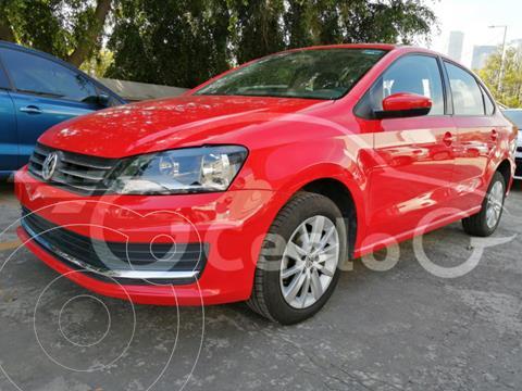 Volkswagen Vento COMFORTLINE 1.6L L4 105HP MT usado (2020) color Rojo Flash precio $219,500