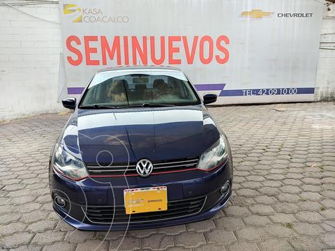 Volkswagen Vento Highline usado (2015) color Azul precio $165,000