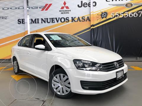 Volkswagen Vento Startline Aut usado (2019) color Blanco precio $200,000