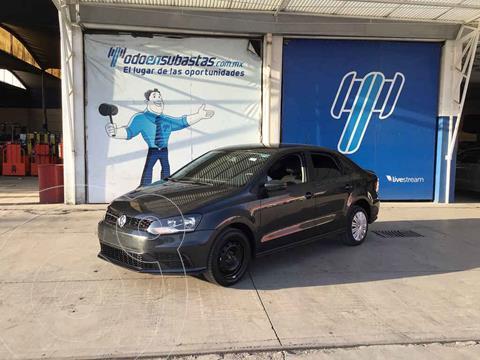 Volkswagen Vento Startline usado (2020) color Gris precio $117,000
