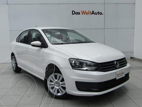 Volkswagen Vento Startline Aut usado (2020) color Blanco Candy precio $205,000