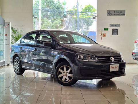 Volkswagen Vento Startline Aut usado (2020) color Gris precio $245,000