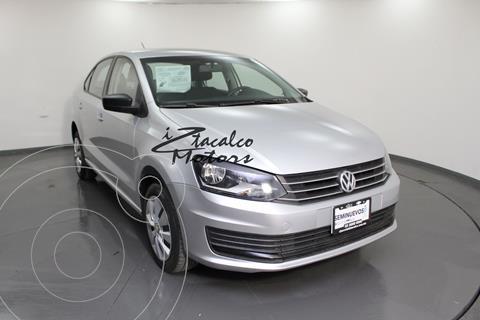 Volkswagen Vento Startline Aut usado (2020) color Plata Dorado precio $214,000