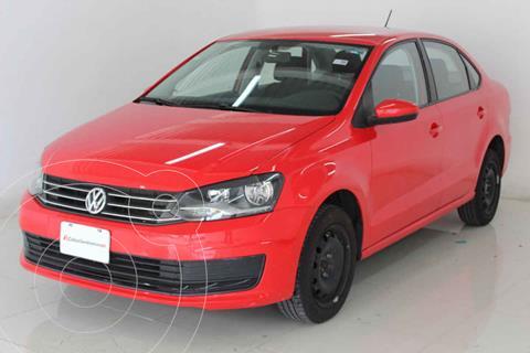 Volkswagen Vento Startline Aut usado (2018) color Rojo precio $199,000