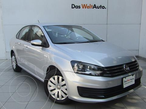 Volkswagen Vento Startline Aut usado (2018) color Plata Reflex precio $172,000