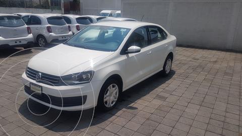 Volkswagen Vento Startline Aut usado (2018) color Blanco precio $168,000