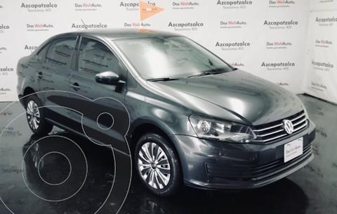 Volkswagen Vento Startline usado (2018) color Gris Carbono financiado en mensualidades(enganche $35,000 mensualidades desde $4,007)