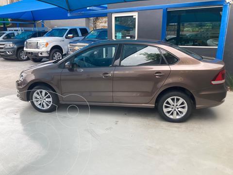 Volkswagen Vento Comfortline usado (2018) color Cafe precio $175,000
