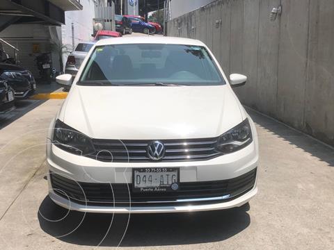 Volkswagen Vento Comfortline usado (2018) color Blanco financiado en mensualidades(enganche $37,000 mensualidades desde $4,600)