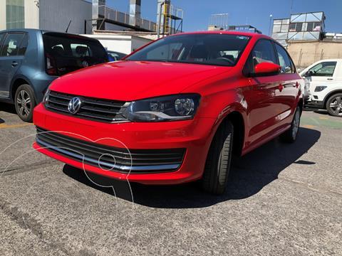 Volkswagen Vento Comfortline usado (2020) color Rojo Flash financiado en mensualidades(enganche $6,350 mensualidades desde $6,350)