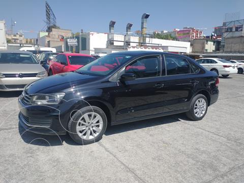 Volkswagen Vento COMFORTLINE 1.6L L4 105HP MT usado (2018) color Negro Profundo precio $195,000