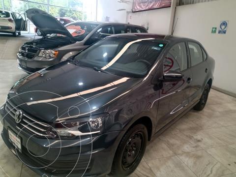 Volkswagen Vento Startline Aut usado (2020) color Gris Carbono precio $239,000