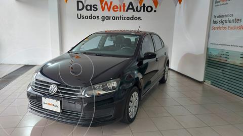 Volkswagen Vento Startline usado (2018) color Negro precio $179,000