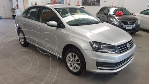 Volkswagen Vento Comfortline Aut usado (2019) color Plata Reflex financiado en mensualidades(enganche $60,342 mensualidades desde $4,285)