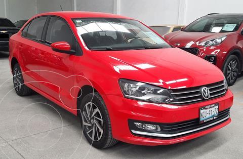Volkswagen Vento Sound usado (2018) color Rojo precio $210,000