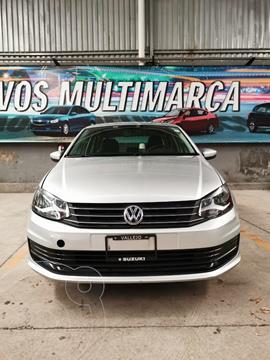 Volkswagen Vento Startline Aut usado (2019) color Plata Reflex precio $177,000