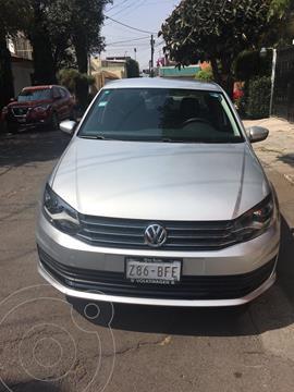 Volkswagen Vento Startline usado (2020) color Plata Reflex precio $187,000