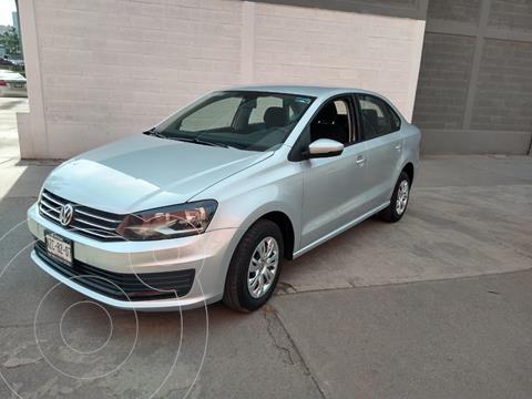 Volkswagen Vento Startline usado (2017) color Plata precio $160,000