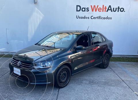 Volkswagen Vento Startline usado (2020) color Gris Carbono precio $214,900