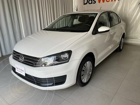 Volkswagen Vento STARTLINE 1.6L L4 105HP MT usado (2020) color Blanco precio $224,000