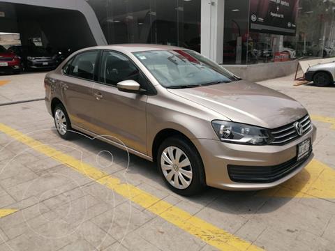 Volkswagen Vento Startline usado (2020) color Beige precio $205,000
