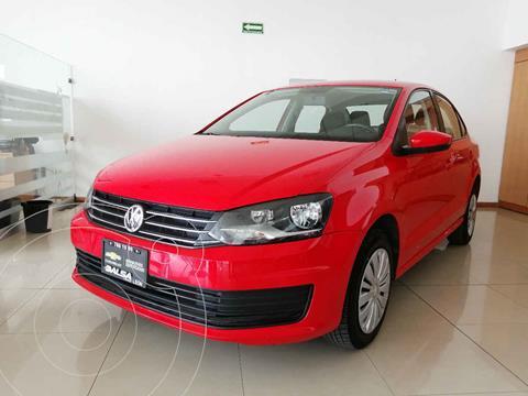 Volkswagen Vento Startline Aut usado (2020) color Rojo precio $217,000